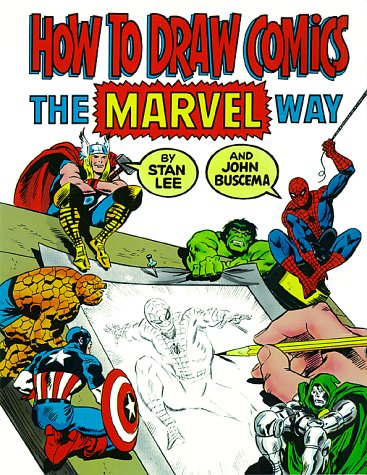 how to draw comics the marvel way book stan lee large picture image isbn 0671530771